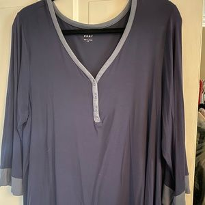 Dusty blue DKNY shirt